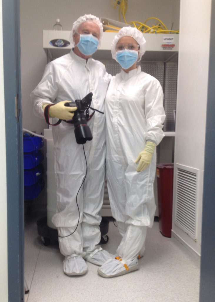 Dressed for the Cleanroom
