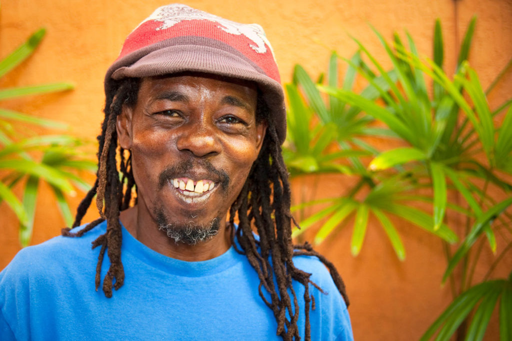 Smiling Jamaican Man